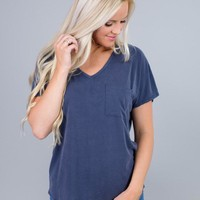 Double V-Neck Top
