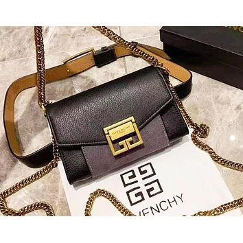 Givenchy fashion versatile small square bag shoulder chain bag 7#