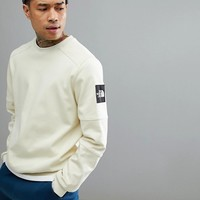 The North Face Fine 2 Crew Neck Sweatshirt In Off White at asos.com