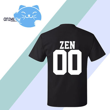Zen Mystic Messenger Inspired Game Jersey Style T-Shirt