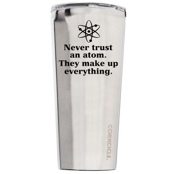 Corkcicle Never Trust and Atom 24 oz Tumbler Cup