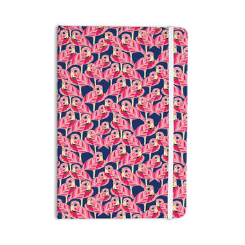 "Amy Reber ""Flamingo"" Pink Purple Everything Notebook"