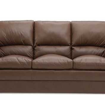 Color Customizable Leather 3-Seat Sofa Marcella by Palliser