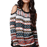 Lush Cold Shoulder Pullover Sweater at PacSun.com