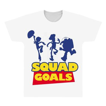 Toy Story Squad Goals All Over Men's T-shirt