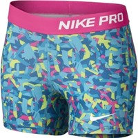 Nike Girls' Pro 3'' Printed Compression Shorts | DICK'S Sporting Goods