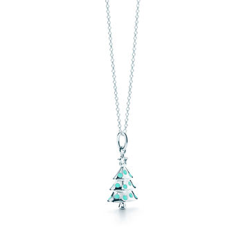 Tiffany & Co. - Christmas Tree Charm And Chain