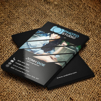 Photography Business Card | Template for Photographers | Instant Download