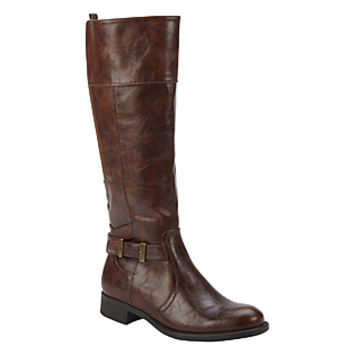 Wear Ever- -Women's Savannah Knee-High Brown Riding Boot-Shoes-Womens Shoes-Womens Boots
