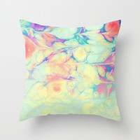 fresh paint Throw Pillow by sylviacookphotography
