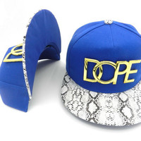 Dope Women Men Embroidery Sports Edgy Hip Hop Baseball Cap Hat