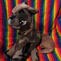 Sargent Camouflage My Little Pony Plush