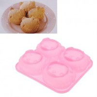 Adorable Hello Kitty Shape Four Bread Mould (Pink) China Wholesale - Everbuying.com
