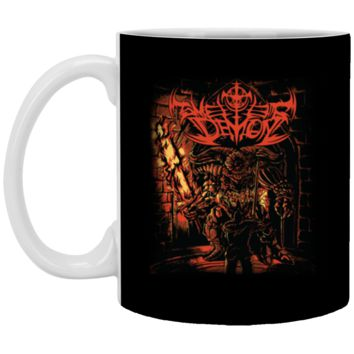 Demon Souls Dark Souls T-SHIRt-01 XP8434 11 oz. White Mug