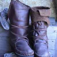 Handmade Leather Boots