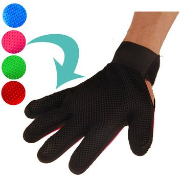 Pet Silicone Glove Deshedding Brush Cleaning Glove For Dog Cat Gentle Efficient Massage Grooming Pet Dog Accessories