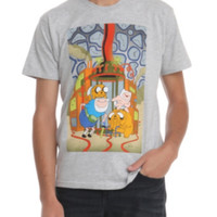 Adventure Time Old And Young Jake And Finn T-Shirt 3XL
