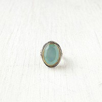 Bora  Seafoam Stone Ring at Free People Clothing Boutique