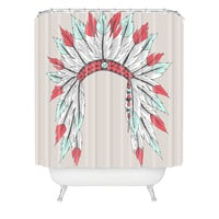 DENY Designs Wesley Bird Polyester Dressy Shower Curtain