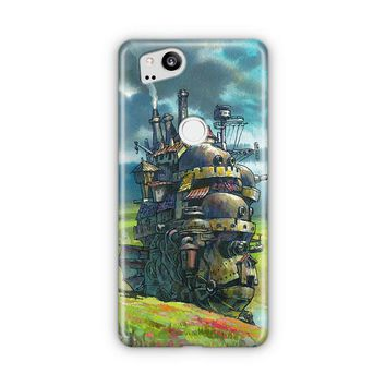 Howls Moving Castle Artwork Google Pixel 3 XL Case | Casefantasy