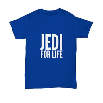 Jedi For Life Sci Fi Movie Classic T-Shirt