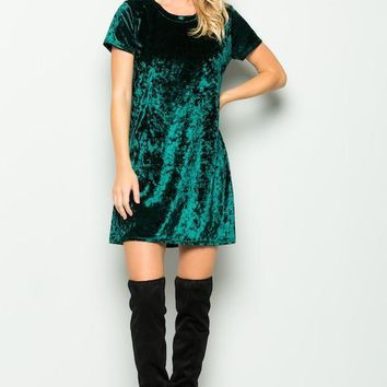 Upon a Wish Dress  - Hunter Green