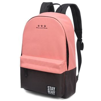 2017 Ladies Knapsack Laptop Travel Bags for Teenage Girls Backpacks Women Children Schoolbag School Backpack Female Back Pack