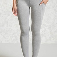 Active Heathered Knit Leggings