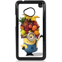Despicable Me Minions HTC One M7 Hard Plastic Black or White case (Black)