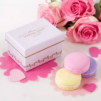 Sweet Macaron Soap - Set of 3