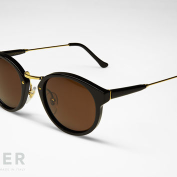 retroSUPERfuture Panama Black Sunglasses