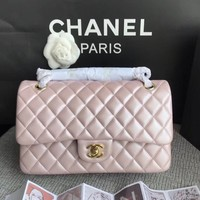 Double C Quilted Rose Gold Bag