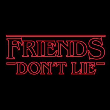 Stranger Things Friends Don't Lie T-shirt