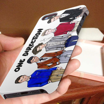 one direction, illustration 3D iPhone Cases for iPhone 4,iPhone 4s,iPhone 5,iPhone 5s,iPhone 5c,Samsung Galaxy s3,samsung Galaxy s4
