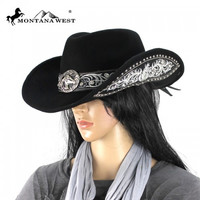 Montana West CHT-9026 Cowgirl Hat