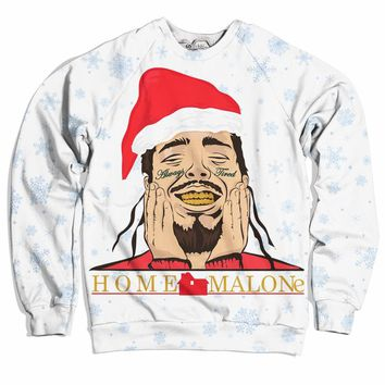 Home Malone Christmas Sweater