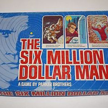 Vintage Six Million Dollar Man Board Game