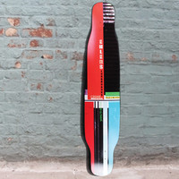 CSD 48 inch Dancer Double Kick Longboard DECK from Ehlers - Cross Stepping