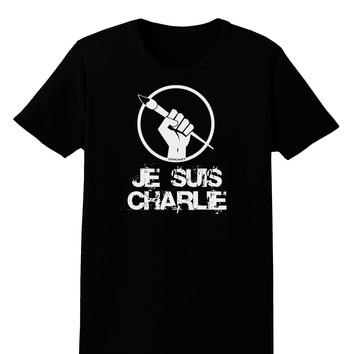 Je Suis Charlie Womens Dark T-Shirt