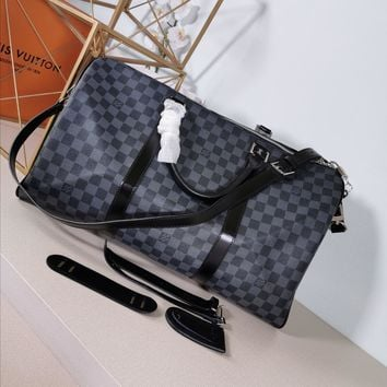 Kuyou Lv Louis Vuitton Gb29714 M40569 Travel All Collections  Keepall Bandouli¨¨re 50