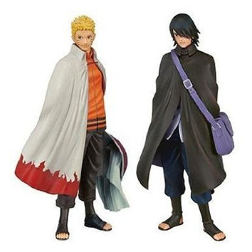 16cm Naruto Anime Figures Uzumaki Naruto Sasuke PVC Action Figure Toys Collection Dolls for Kids Christmas Gifts