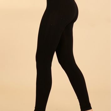 Classic High Waisted Leggings Black