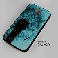 Teal Dandelion Sillhoute A1324 Samsung Galaxy S3 S4 S5 (Mini) S6 S6 Edge Note 2 3 4 HTC One S X M7 M8 M9