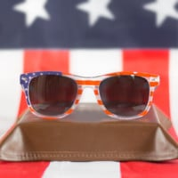 The Merica Wayfarers - Grey Lens American Flag Sunglasses