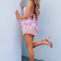 One Chance For Love Dress: Blush