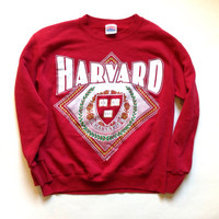 Harvard Crewneck Sweatshirt - Gift - Dark Red Sweatshirt - Modern Day M