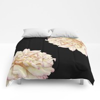 Roses - Lights the Dark Comforters by drawingsbylam