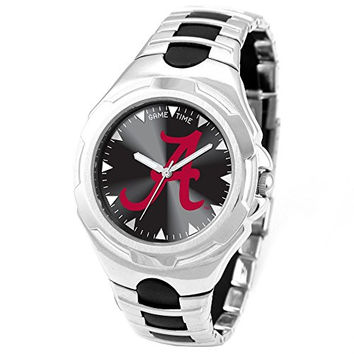 Mens University of Alabama A Victory Watch, Best Quality Free Gift Box Satisfaction Guaranteed