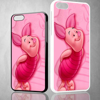 The Piglet Pink Winnie Pooh Z0653 iPhone 4S 5S 5C 6 6Plus, iPod 4 5, LG G2 G3 Nexus 4 5, Sony Z2 Case