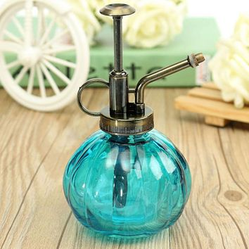 Vintage Pumpkin spray bottle pressure sprayer decorative watering cans pot for Succulent plants bonsai flower gardening tools
